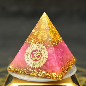 Pyramide Orgonite Haute Fréquence