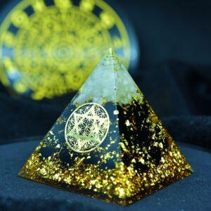 Pyramide Orgonite De Protection Muladhara