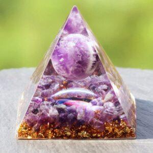 Pyramide Orgonite Phosphorescente