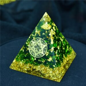 Pyramide Orgonite Cure D'Anxiété