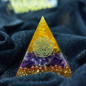 Pyramide Orgonite Apaisement D'Âme