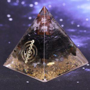 Pyramide Orgonite Labradorite