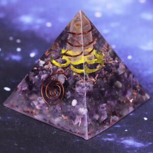 Pyramide Orgonite Spirale Vitale