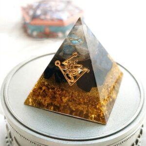 Pyramide Orgonite Pierre De Protection