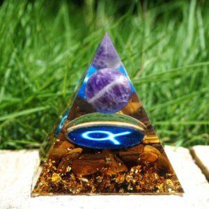 Pyramide Orgonite Taureau